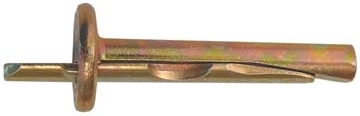 Diblu metalic montaj prin lovire