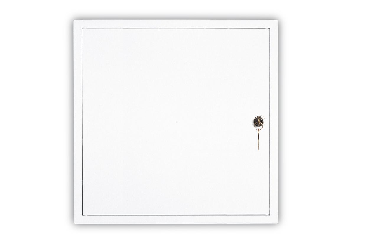 Usa de vizitare 35x34 ABS plastic cu cheie