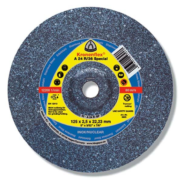 Disc pentru debitat inox A 24 R 36 Special