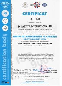 SAGITTA ISO 9001