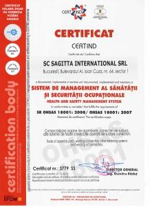 SAGITTA OHSAS 18001